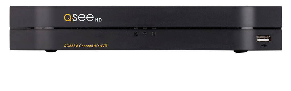 8-Channel 4K IP HD Network Video Recorder with Pre-Installed Hard Drive (QC888) IP HD NVRs  - Q-See