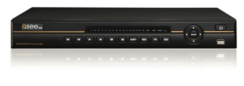 8 Channel HD NVR System with 2TB HDD - (QC838-2) Q-See  - Q-See