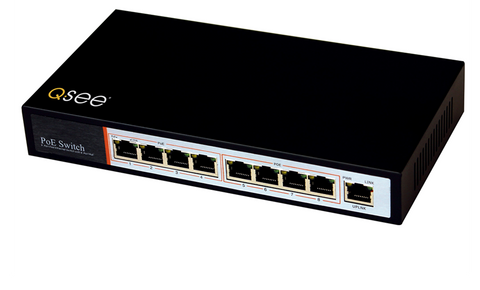 4-Port Power Over Ethernet (POE) Injector for IP Cameras (QAPE401)