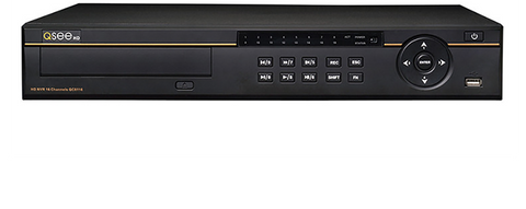 Q-See Reconditioned Reconditioned 16-Channel 1080p Network Video Recorder with 8 3MP Bullet Cameras and 3TB Hard Drive (QC8116-8P4-3R) - 90 Day Warranty