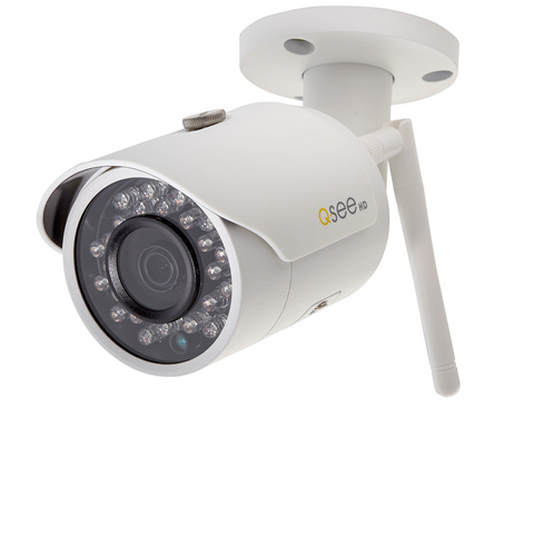 Q-See Wi-Fi Wi-Fi 3MP Bullet Security Camera (QCW3MP1B-4)