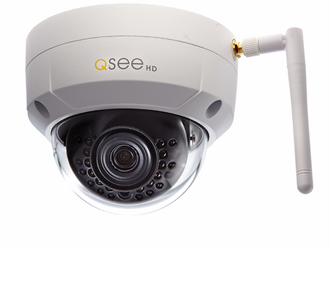 Q-See Wi-Fi Wi-Fi 3MP Dome Security Camera (QCW3MP1D-2)