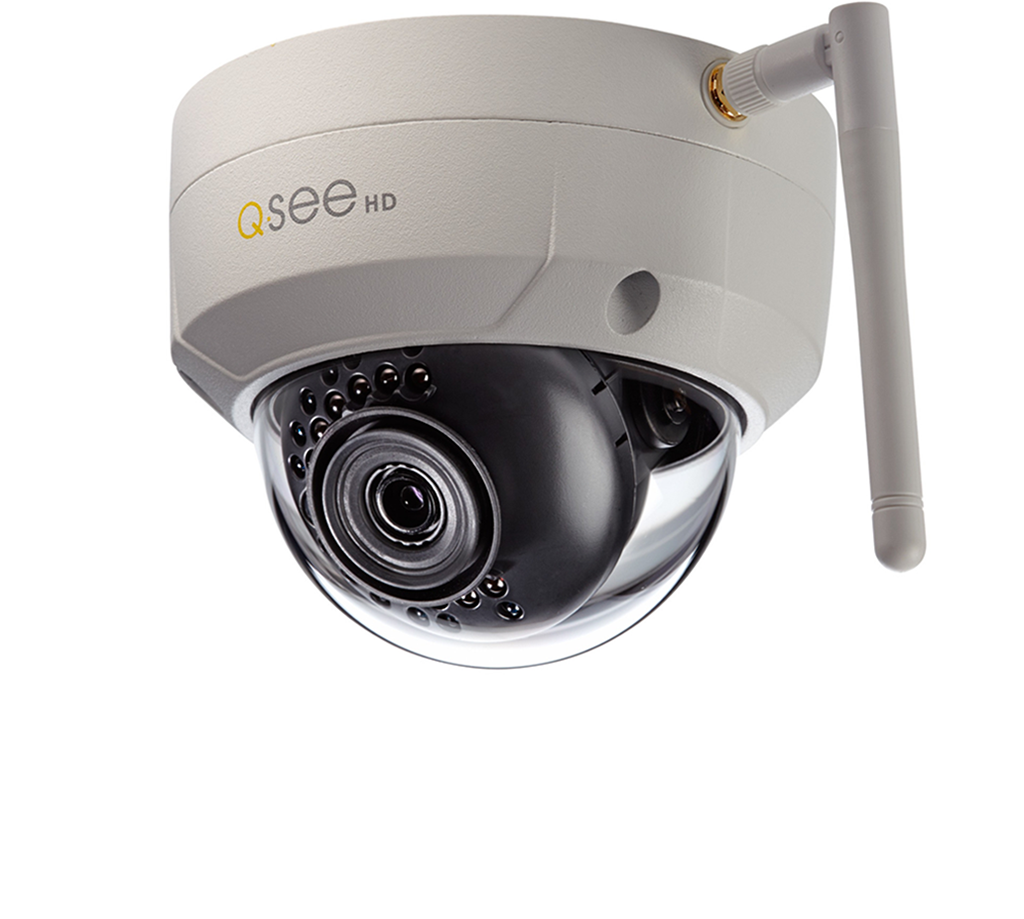 Q-See Wi-Fi Wi-Fi 3MP Dome Security Camera (QCW3MP1D-4)