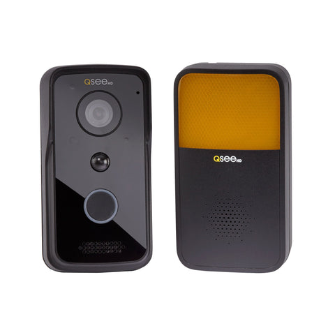 Add-On Wi-Fi Doorbell Chime for QCW1000B- Black (QCHIMEB)