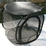 Mesh Popup Cage, Medium (12x12x12) Black - NO WINDOW