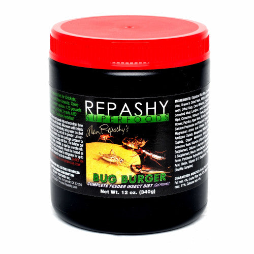 Repashy Bug Burger - Complete Feeder Insect Diet (Gel Premix)