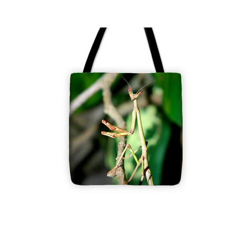 Buy Giant African Stick Praying Mantis Tote Bag For Sale | PanTerra Pets