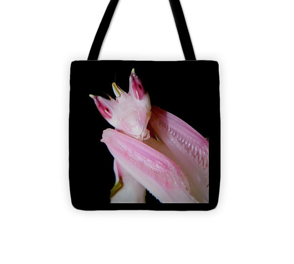 Buy Orchid Praying Mantis Tote Bag For Sale | PanTerra Pets