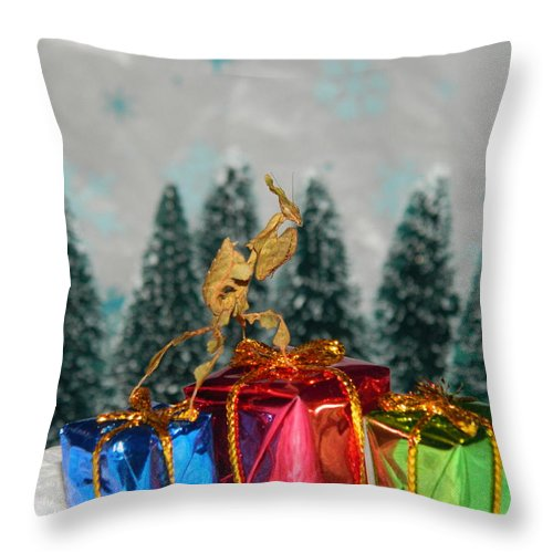 The Ghost Of Christmas - Throw Pillow*