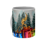Buy Ghost Praying Mantis Christmas Mug For Sale | PanTerra Pets