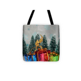Buy Ghost Praying Mantis Christmas Tote Bag For Sale | PanTerra Pets
