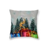 Buy Ghost Praying Mantis Christmas Throw Pillow For Sale | PanTerra Pets