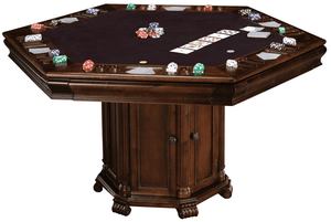 Convertible Poker and Dining Table Niagara by Howard Miller - Americana Poker Tables