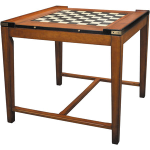 Convertible Chess & Games Table Casino Royale by Authentic Models - AMERICANA POKER TABLES