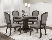 Convertible Poker & Dining Table Set Vegas With 4 matching chairs by Sunset Trading