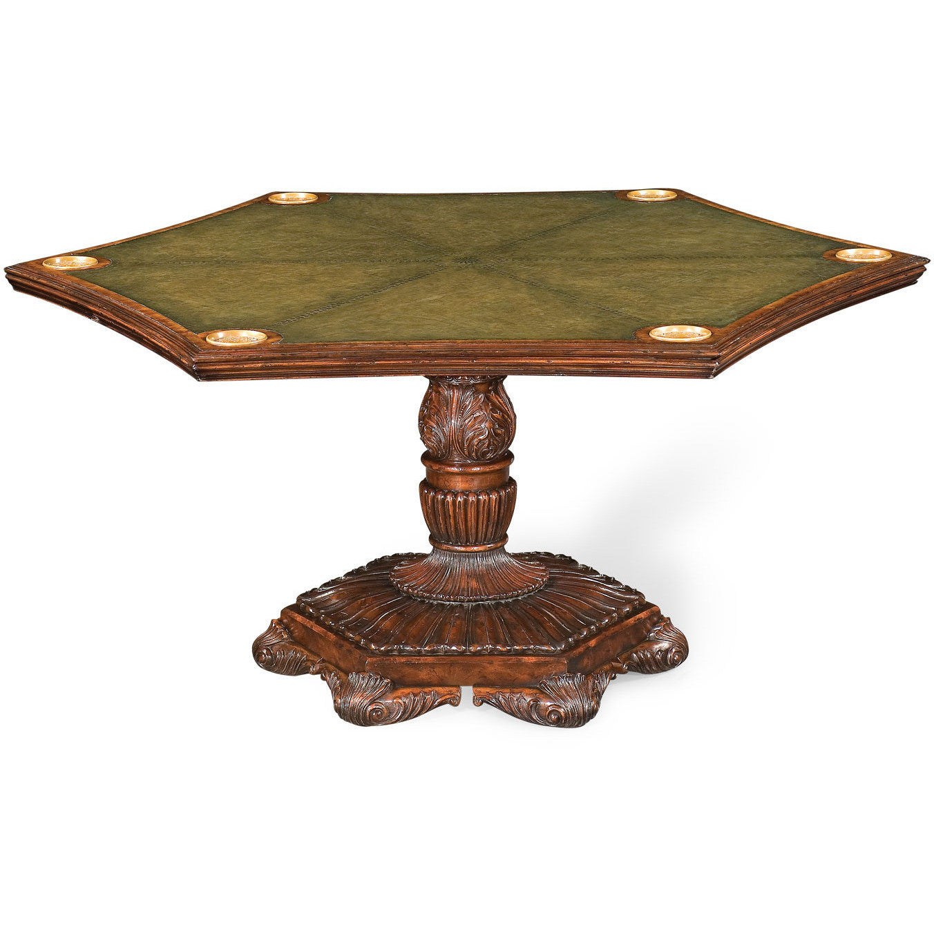 Convertible Poker Table And Dining Table By Jonathan Charles   Americana  Poker Tables ...