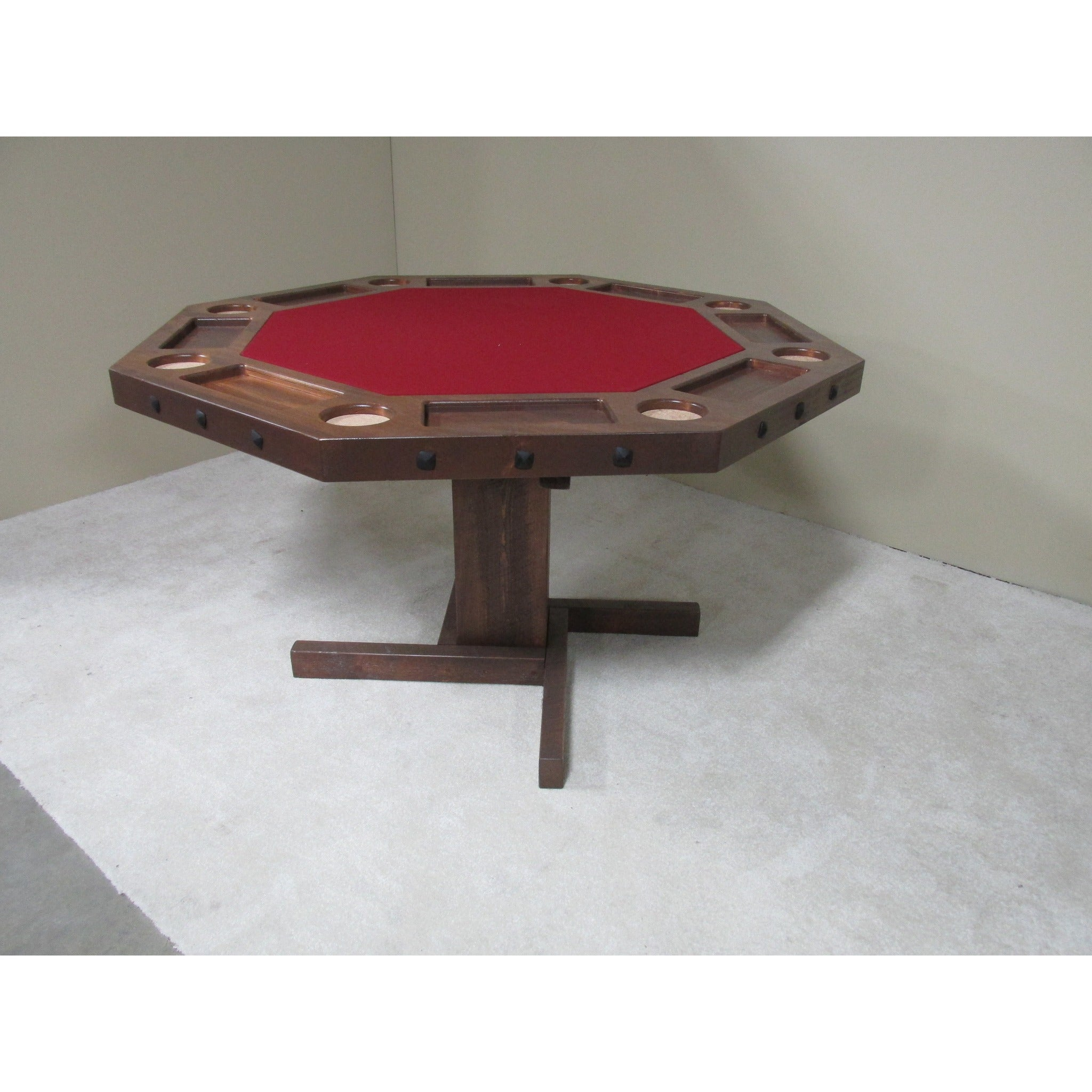 Beautiful Convertible Poker U0026 Dining Table By Viking Log Furniture   AMERICANA POKER  TABLES