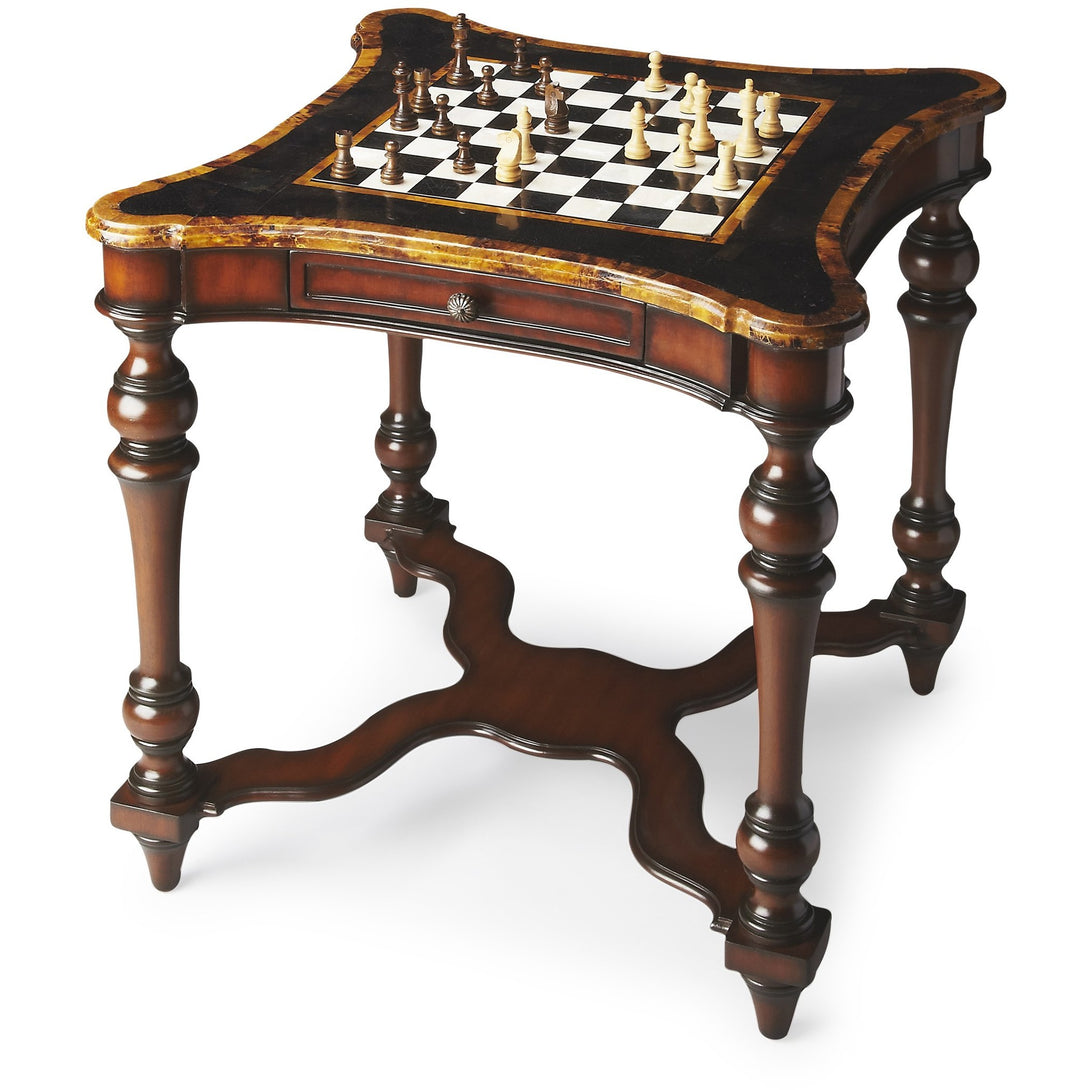 Convertible Chess & Backgammon Table Heritage by Butler - Americana Poker Tables