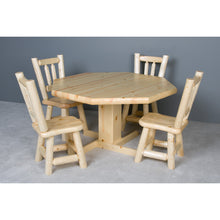 Convertible Poker & Dining Table Northwoods Log by Viking Log Furniture - AMERICANA POKER TABLES