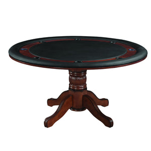 "Convertible Poker & Dining Table 60"" by RAM Game Room - Americana Poker Tables"