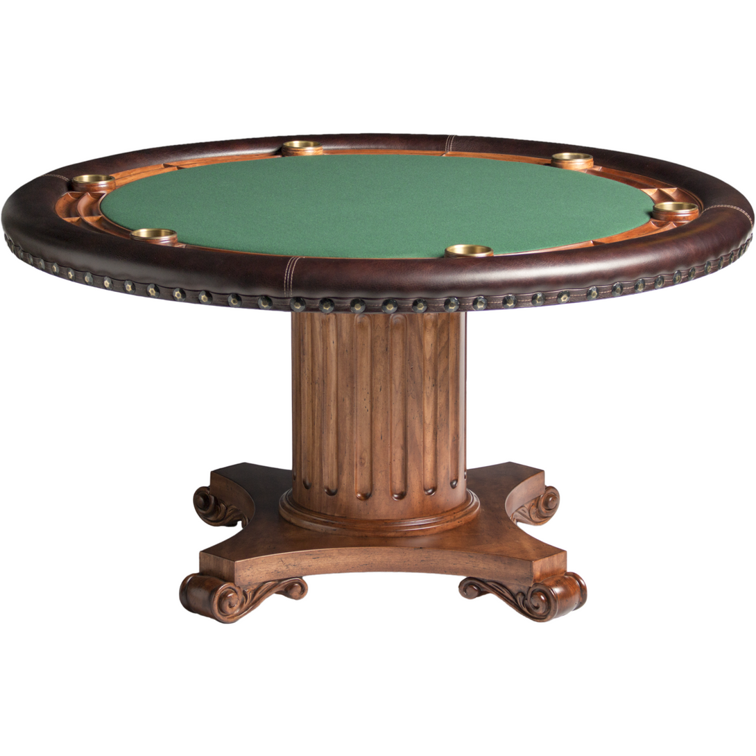 Convertible Poker & Dining Table Augustus by Darafeev - Americana Poker Tables