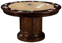Howard Miller Poker and Dining Table Ithaca set with matching chairs