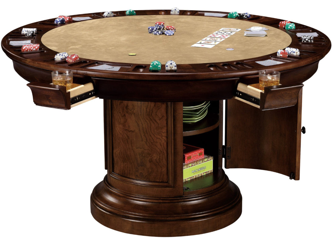Howard Miller Ithaca poker and dining table, convertible