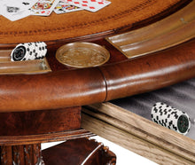 Mahogany Poker Table by Jonathan Charles