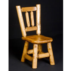4 Or 6 Northwoods Game Chairs, With Wood Seat: