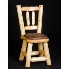 Poker Chair Set: 4, 6 or 8 Poker and Dining Chairs Northwoods Log by Viking Log - AMERICANA POKER TABLES