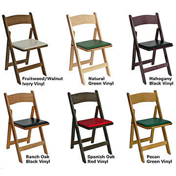 Poker Chair Set of 4 or 6 Kestell Folding Chairs - Americana Poker Tables