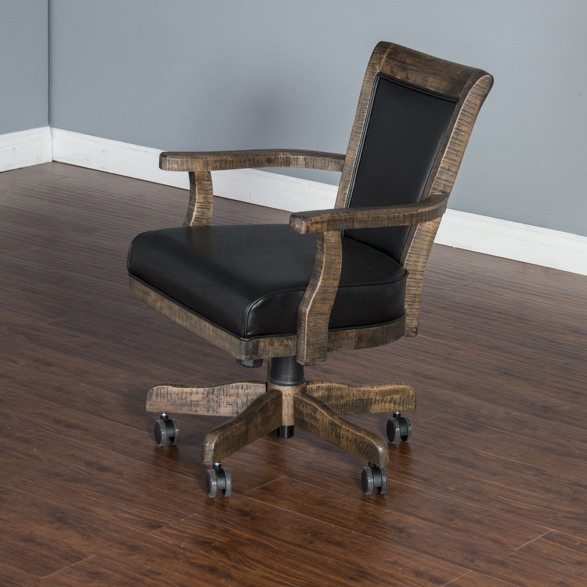 Poker Chair #15 - ... Poker Chair Set: 4 Or 6 Tobacco Leaf Poker Chairs By Sunny Designs -  Americana