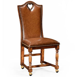 Individual High-Back Leather Chairs by Jonathan Charles - AMERICANA POKER TABLES