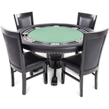 Convertible Poker & Dining Table Nighthawk by BBO - AMERICANA POKER TABLES