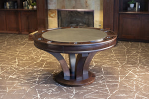 Presidential Billiard Convertible Poker & Dining Table Hamilton - AMERICANA POKER TABLES