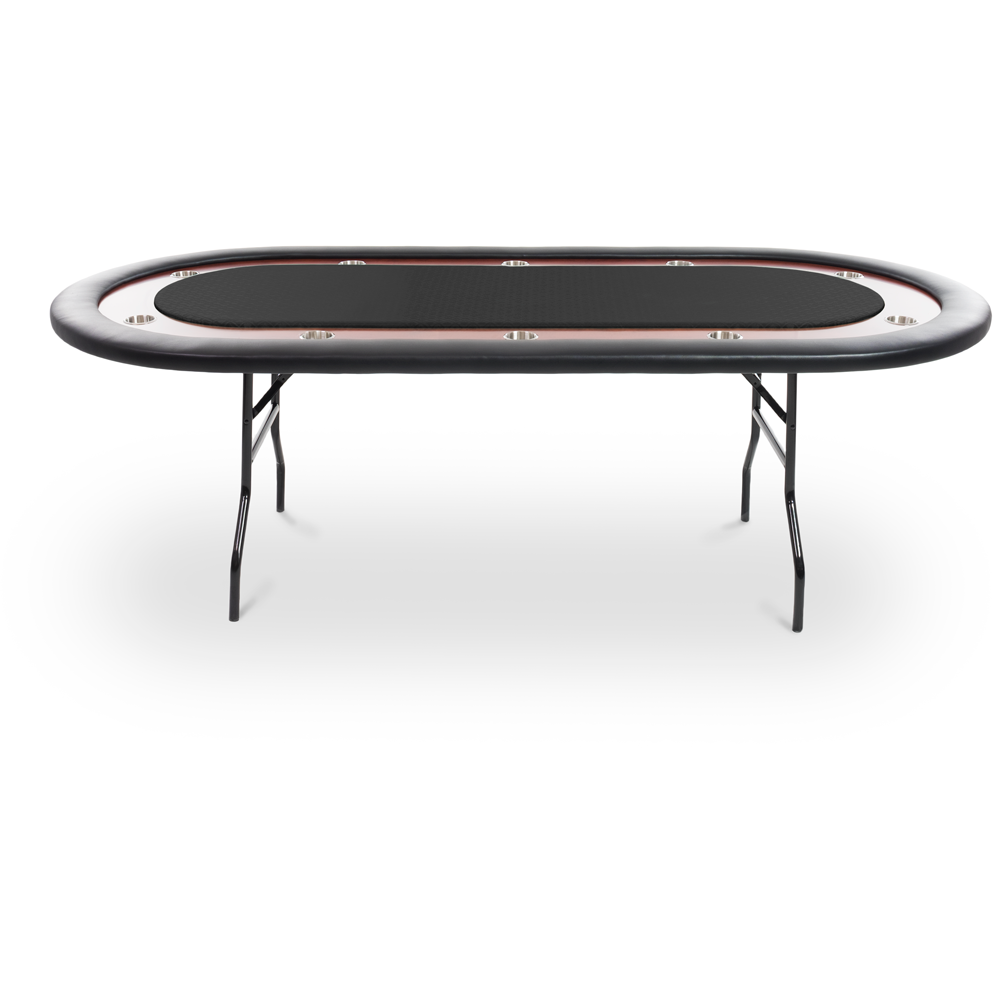 Ultimate Folding Poker Table for 10 by BBO - AMERICANA POKER TABLES