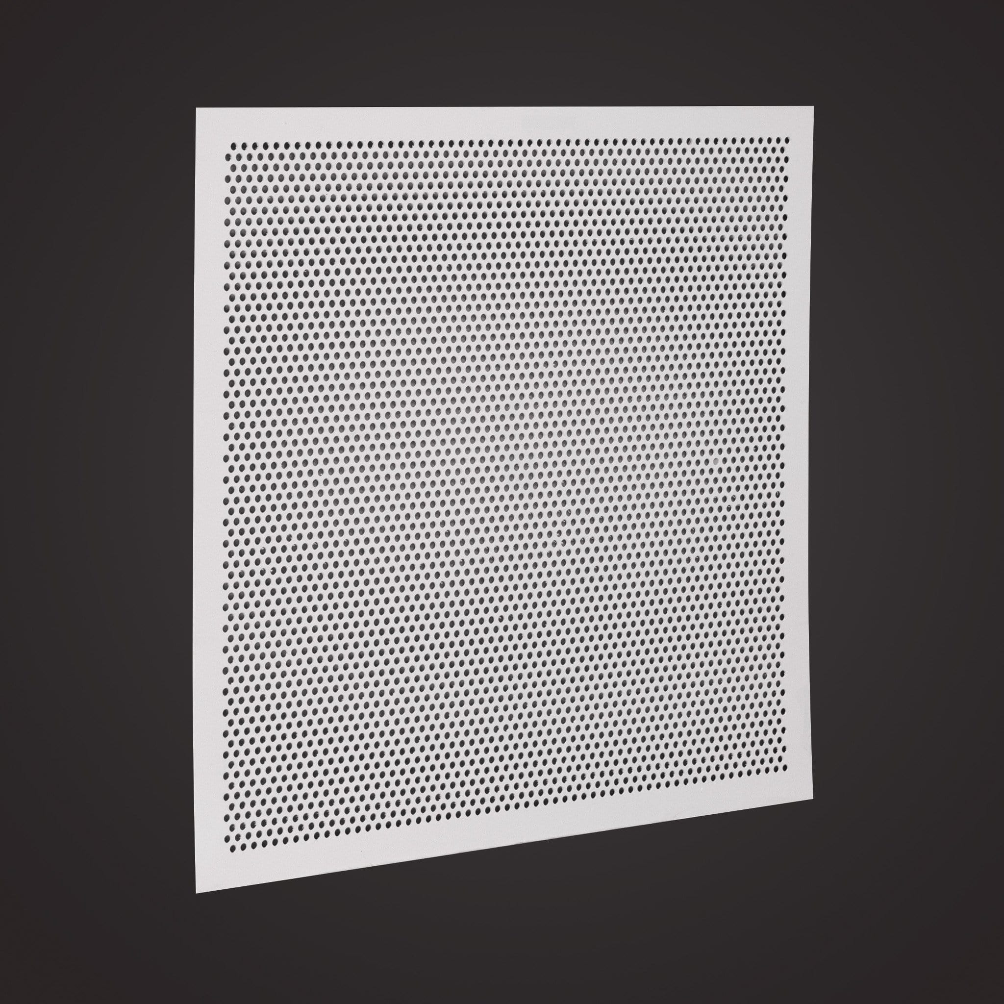 Perforated Lay In Grille : Quot x plastic lay in perforated air return grille no