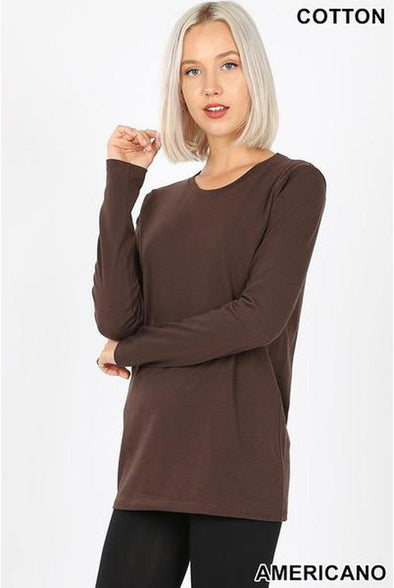 Boyfriend Long Sleeve Loose fit Tees
