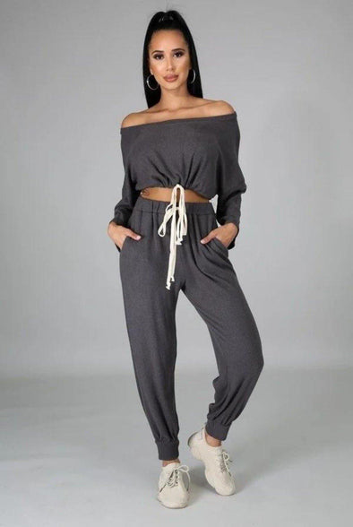 Can't Stay.....Long Sleeve Pants Set.
