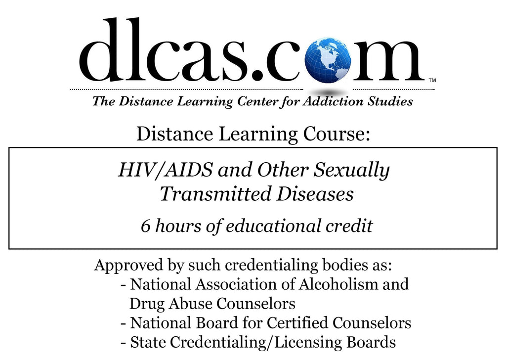 HIV/AIDS and Other Sexually Transmitted Diseases (6 hours)