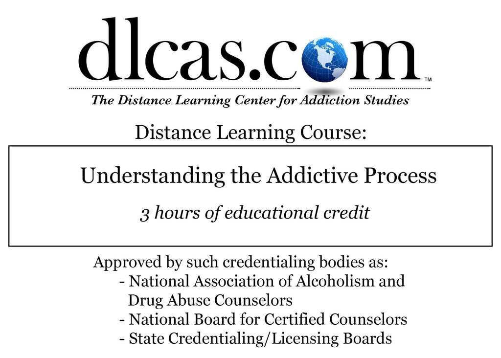 Understanding the Addictive Process (3 hours)