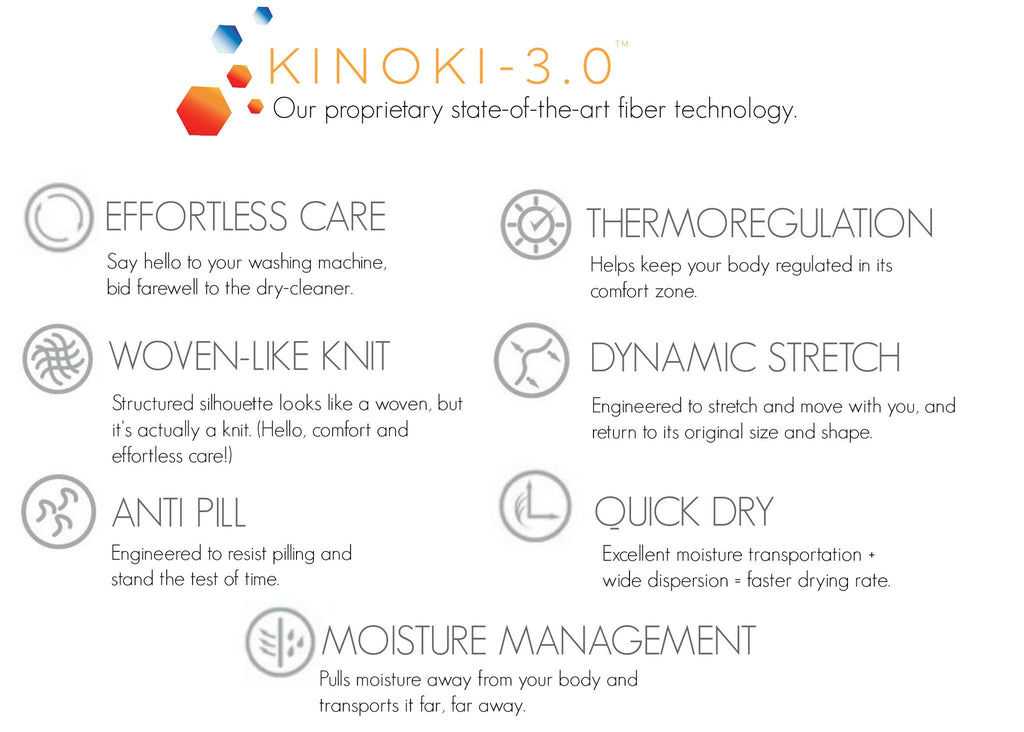 Buki is powered by our proprietary fiber technology: Kinoki-3.0™