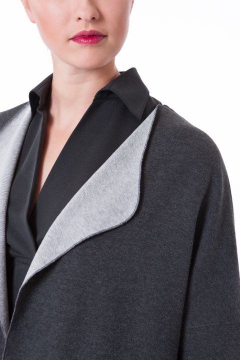 The Cocoon Coat by Buki | Modern elegance and style | Wrap yourself in thermoregulating, soft-tech luxury