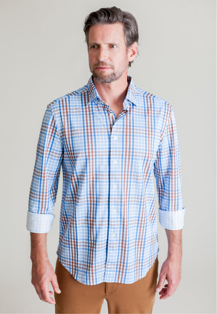 NEW! Duru Plaid Shirt - Buki