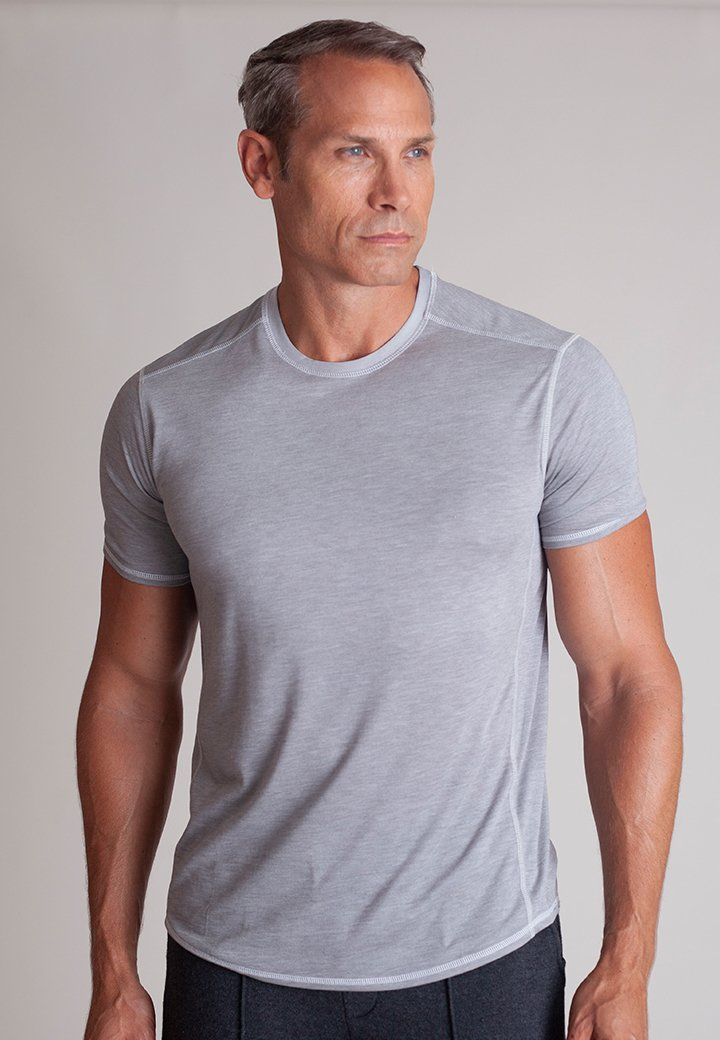 Buki's Cruiser Tee | Streamlined design with live-in-it comfort. Made with technical fabric to keep you warm or cool in comfort | Men's Clothing | Men's Short Sleeve Tee | Free Shipping