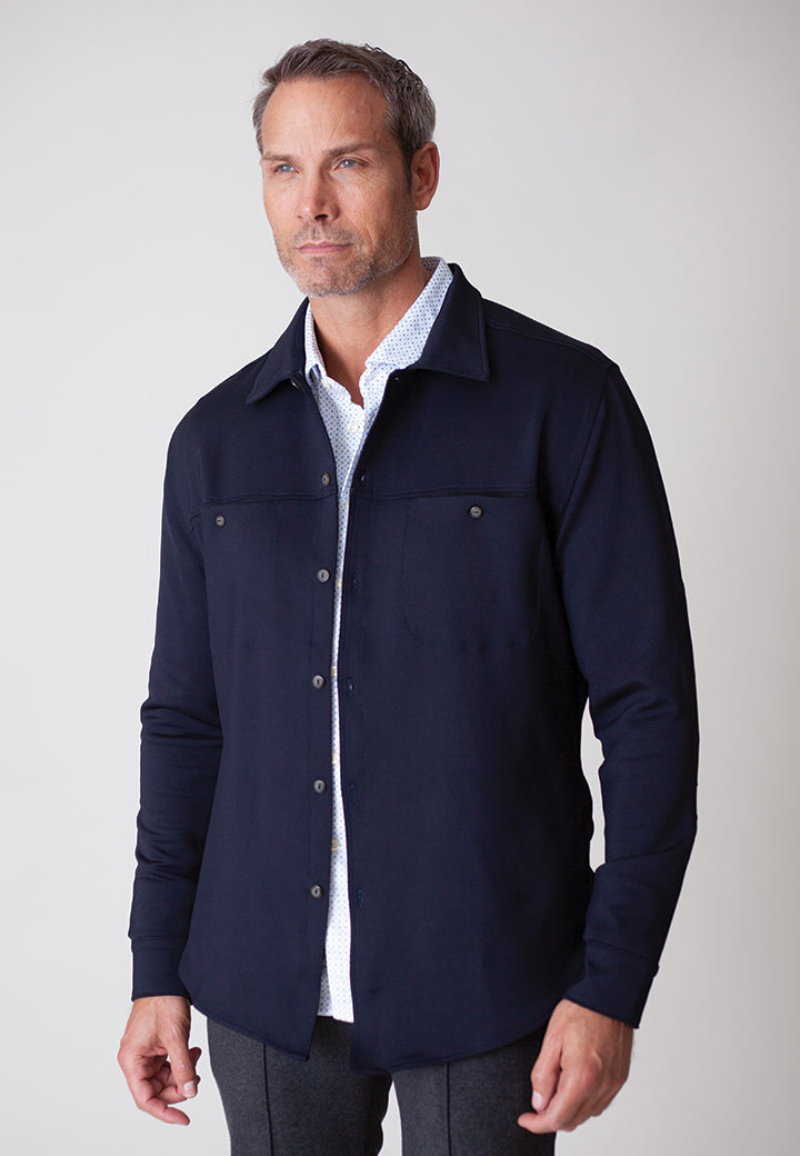 Buki Men's City CPO Shirt Jacket | Mens Clothing | Mens Shirt Jacket | Free Shipping