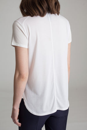 The Classic T Shirt by Buki | Clean lines, flattering fit, casual style in soft-tech luxury
