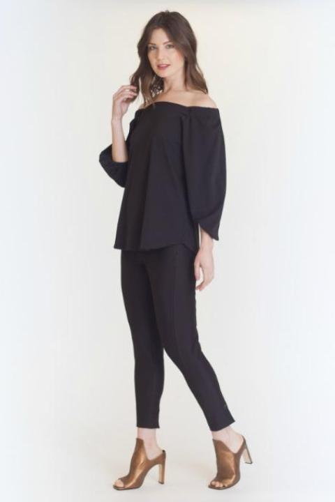 Cold Shoulder Top by Buki | Versatile style for the office or after hours