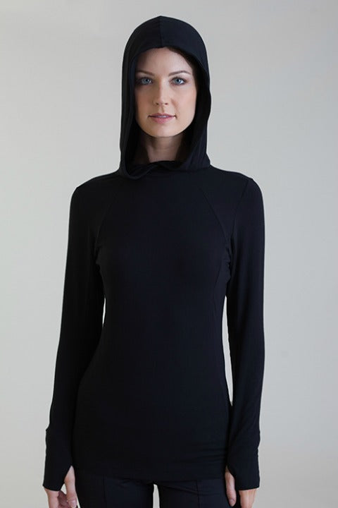The women's Collagen Hoodie will make your skin super soft.
