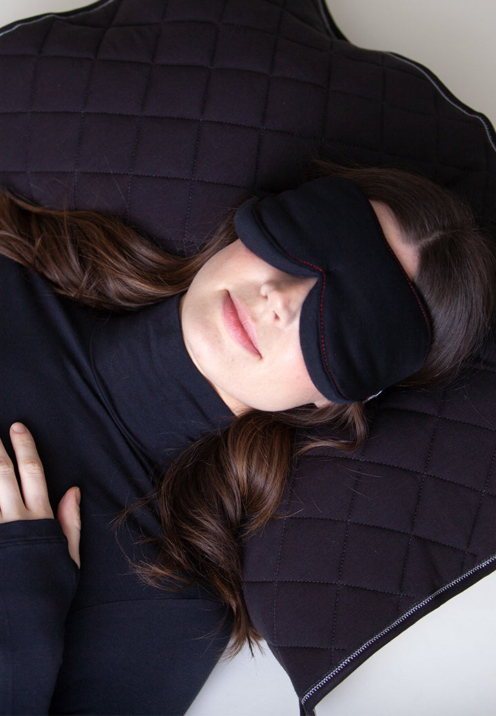 Buki's Collagen Eye Mask and Pillow Cover Set | Soften and hydrate your skin while you sleep. Perfect for home or travel | Home Goods | Collagen | Free Shipping